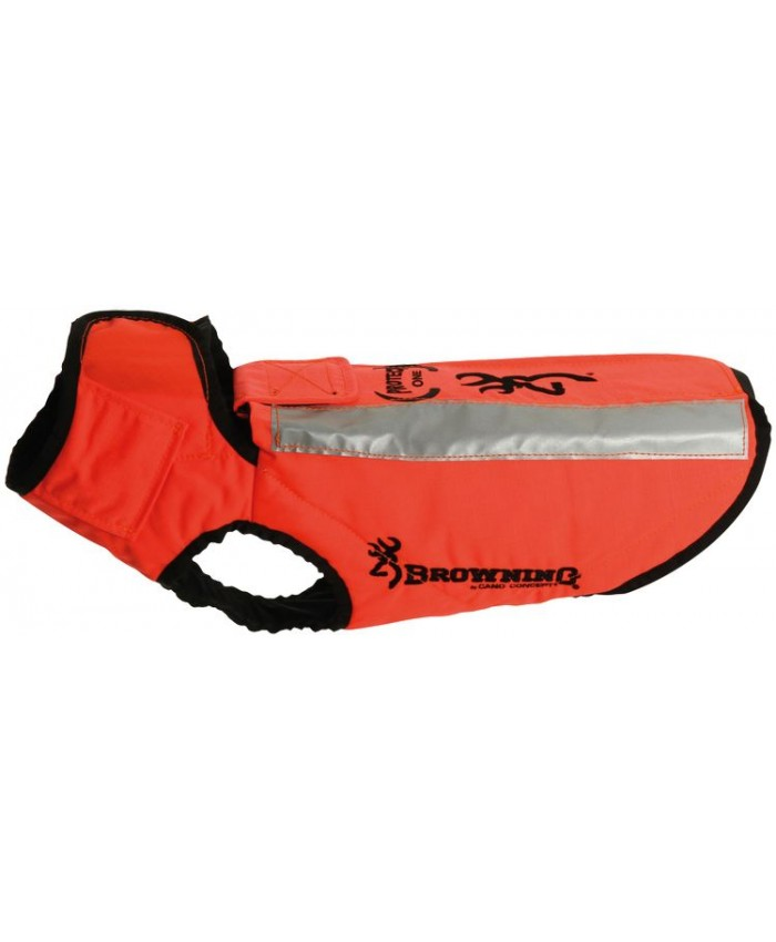 Dog Vest Protect One Laranja T70