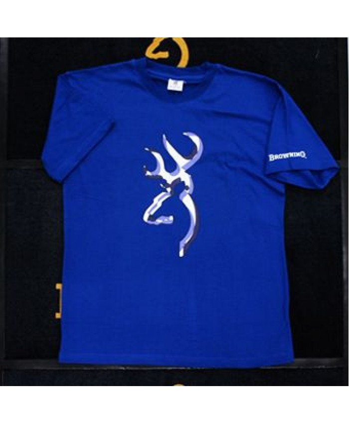 BRG T-Shirt Middle Buck Blue L