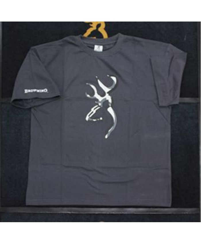 BRG T-Shirt Middle Buck Cinza L