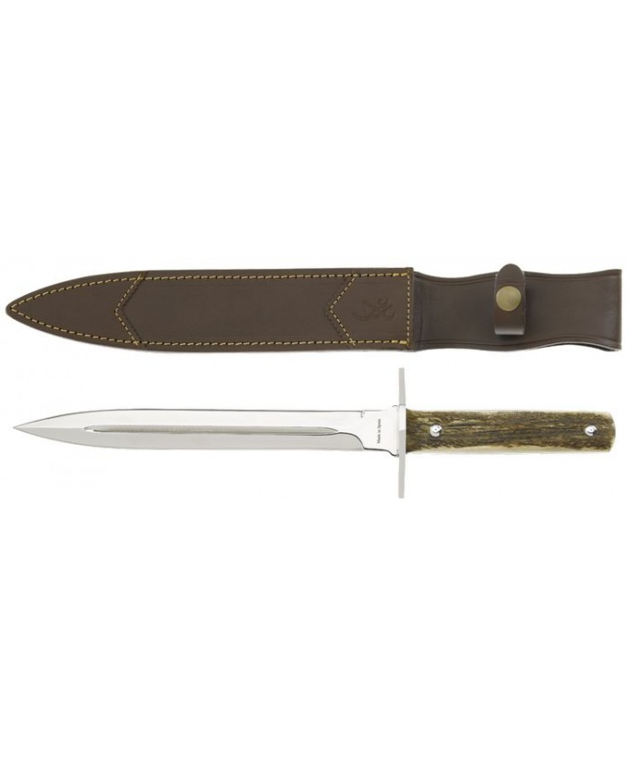 Faca Browning Dagger Knife 23cm Stag