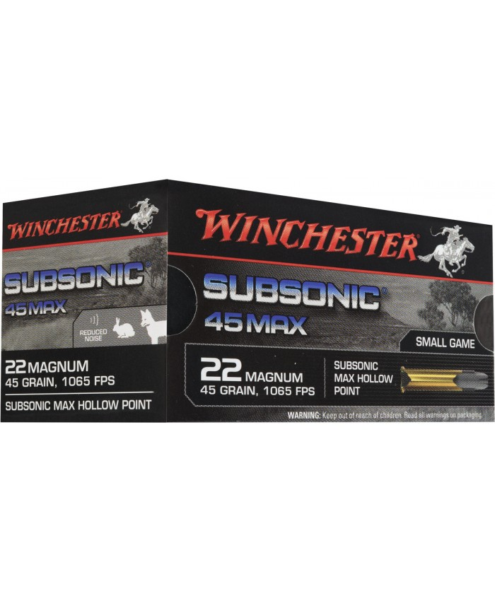 Win Mun 22WM,SUBSONIC,45gr,HP,50/3000