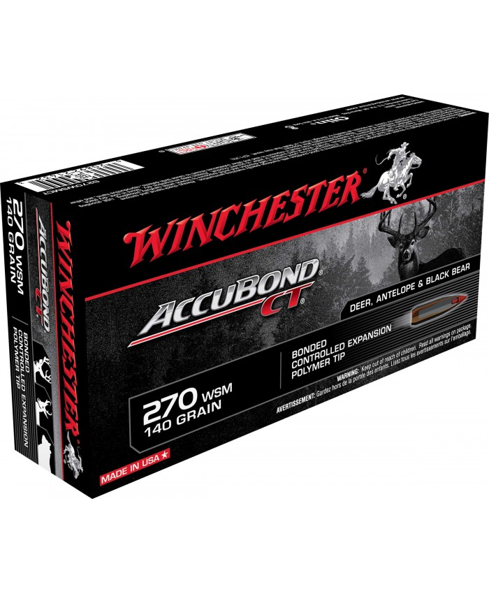 Win Mun 270 WSM 140G Accubond