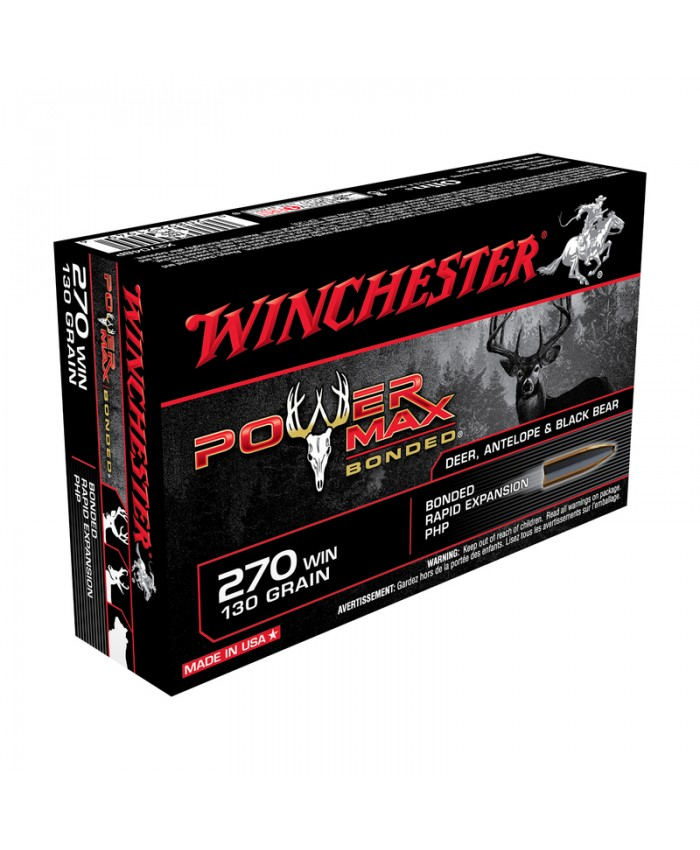 Win Mun 270 Win. 130GR. Power Max