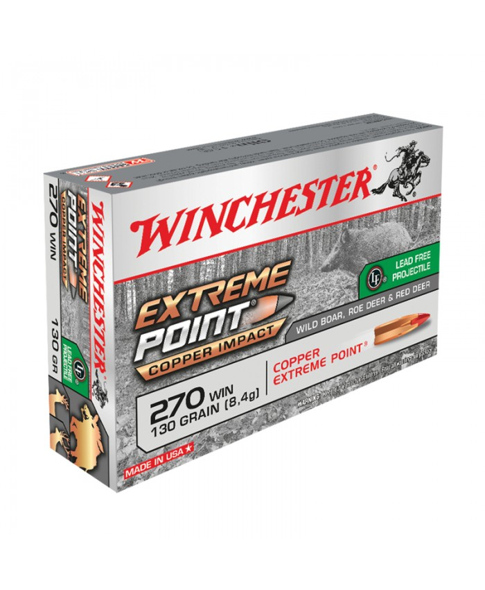 Win Mun 270 Win. 130GR. Extreme Point Lead Free