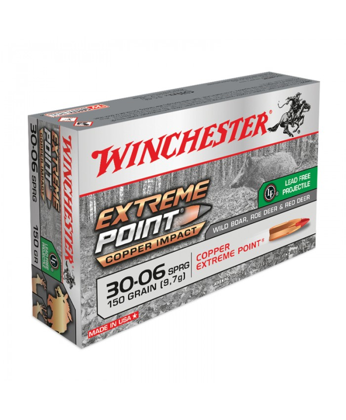 Win Mun 30-06 Spr. 150GR. Extreme Point Lead Free