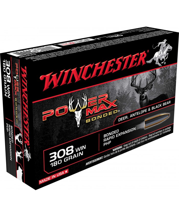 Win Mun 308 Win. 180GR. Power Max