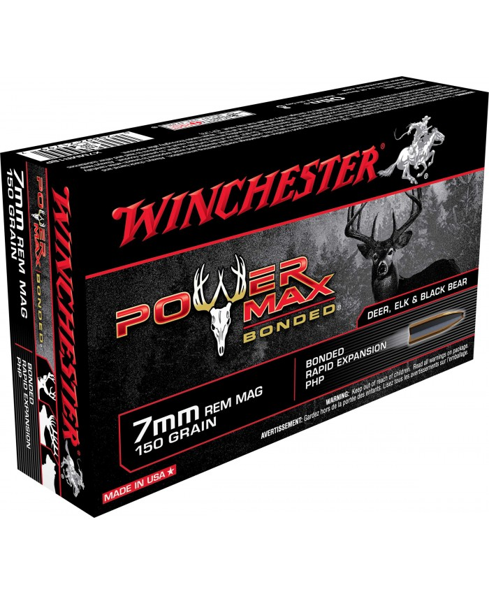 Win Mun 7mmRem 150GR. Power Max